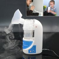 Alat Terapi Pernafasan Ultrasonic Inhale Nebulizer