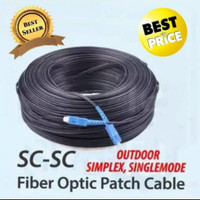 Cable Fiber Optic 150m+seling UPC/SC to UPC/SC single mode simplex