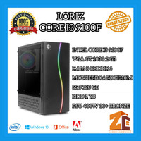 Pc Gaming/Editing Intel Core I3 9100f|GT 1030 2GB|8GB|120GB|1TB - 8 gb