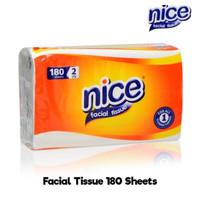 tissue nice 180 sheets 2 ply MURAH