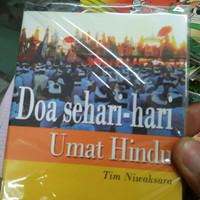 buku Hindu doa sehari hari umat hindu tim niwaksara