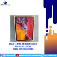 NEW IPAD PRO 11 INCH 256GB WIFI CELLULAR GARANSI RESMI