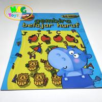 buku belajar huruf untuk anak paud