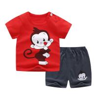Setelan santai anak / baju harian / setelan kaos pendek monyet 73cm - 73