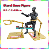 Stand Base Figure Gold Display Standing Pameran