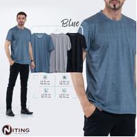 Kaos Polos Dingin-Cocok Dengan Outer Apapun- 3 Warna- NITING S-M-L-XL