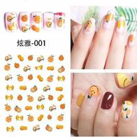 fruity nail art stickers oranges sticker kuku jeruk