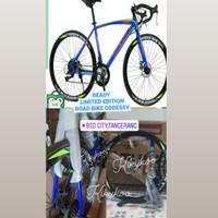 sepeda balap odessy roadbike 700c speed 2x7