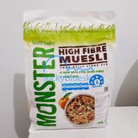 Monster High Fibre Muesli | Monster High Fiber Muesli | Musli Almond