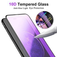 ANTI BLUELIGHT TEMPERED GLASS 10D FULL COVER FOR REDMI 9A