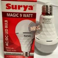 Lampu Emergency LED Surya Magic 9 Watt