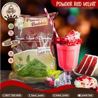 bubuk red velvet regueler/bubuk pink lava reguler 1kg
