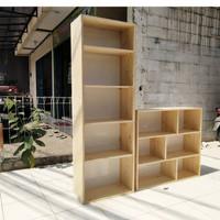 rak buku kayu jati Belanda rak buku custom
