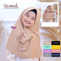 Go mask / khimar anak / hijab anak / hijab masker anak