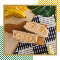 Kolak Pisang Sando (Banana Sandwich)