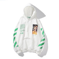 hoodie sweater jacket branded premium OFF WHITE GOLDEN RATIO import