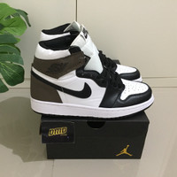 SEPATU NIKE AIR JORDAN 1 RETRO HIGH DARK MOCHA - PREMIUM ORIGINAL