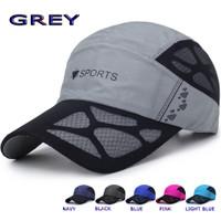 TOPI BASEBALL CAP SPORT FASHIONABLE TOPI SPORT GOLF - Grey