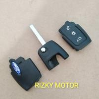 Casing Remote Kunci Lipat Flip Key Ford Fiesta 1.4 cc & 1.6 cc Focus