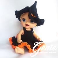 baju boneka baby alive halloween