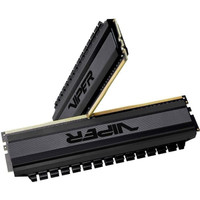 PATRIOT VIPER BLACK OUT DDR4 8GB (2x4GB) 3000Mhz Dual Channel