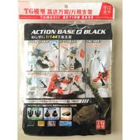 Action Base Clear White Gundam HG RG 1/144 link khusus lockon