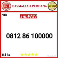 Nomor Cantik Simpati Panca 00000 0812 86 100000 N1b9