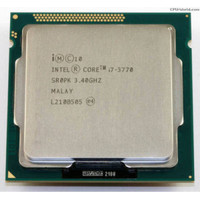 PROCESSOR INTEL CORE I7 3770 tray socket 1155 NO FAN