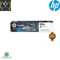 Tinta HP 981A Cyan Original PageWide Cartridge