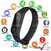 Smartband M2 Bracelet Smart watch sport bluetooth sensor detak jantung