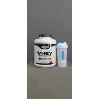 RSP WHEY + SMART SHAKER RSP MODEL BARU