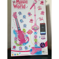 Mainan Anak Guitar + Microphone Play Set