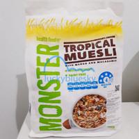 Monster Tropical Muesli | Monster Musli Tropikal | Sereal Sarapan
