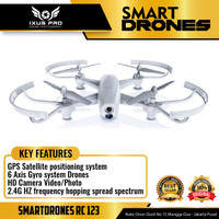 Smartdrone RC123 6 Axis Gyro 2.4 /WIFI GHZ/4 canais/720p HD