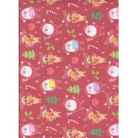 "Kertas Kado Sansan Wawa SW 5591 seasonal/Christmas/Santa/raindeer"""