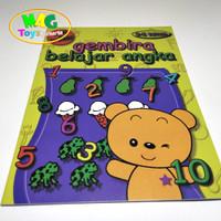 buku belajar menulis angka untuk paud