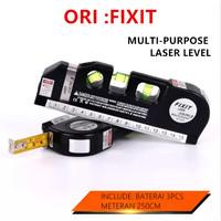 Meteran Laser Waterpass Digital 4 in 1 Level Measure Ruler Level Pro3