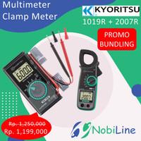 PROMO BLUNDING!! Kyoritsu Multimeter 1019R + Clamp Meter 2007R
