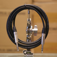 "Headphone Amplifier Cable 3M 1/4"" TRS to Same, Balanced Interconnect"