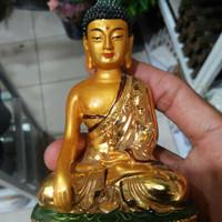 patung buddha gold M#2