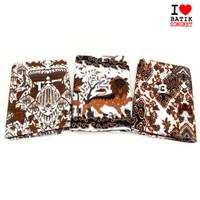 KATUN CIREBON KLASIK ANTIK bahan kain batik baju dress sogan keraton