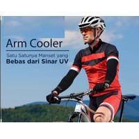 Manset Tangan Olahraga / Sarung Lengan Panjang Sepeda Manset Sepeda