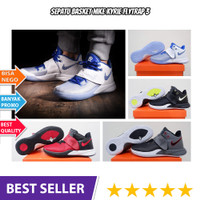 Sepatu Basket Nike / Sneakers Basket / Sepatu Basket Kyrie Flytrap 3 - Core Black, 40