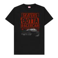 BAJU/KAOS LENGAN PENDEK SKATERS SK.SKT-TH028 BLACK