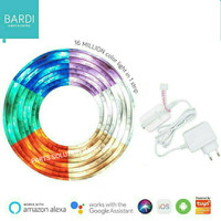 Paket BARDI Lampu Smart Home LED Strip Wifi RGBWW 2 Meter + ADAPTOR 1A