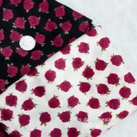 Kain bahan Katun Jepang Tokai senko motif Rose