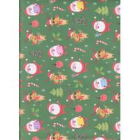 "Kertas Kado Sansan Wawa SW 5590 seasonal/Christmas/Santa/raindeer"""