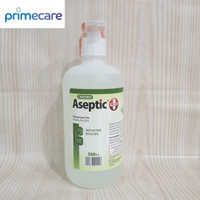 Aseptic Plus Cair 500ml / Aseptic Cair / Antiseptik Cair + Dispenser