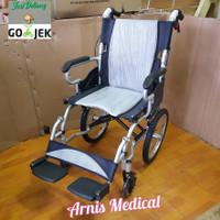 kursi roda travel alumunium 863 LABJ mudah di lipat