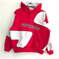 Supreme Big S Hoodie Red 100% Original